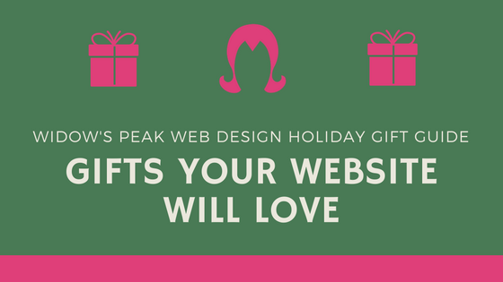 2016 Holiday Gift Guide for your Website