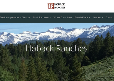 Hoback Ranches